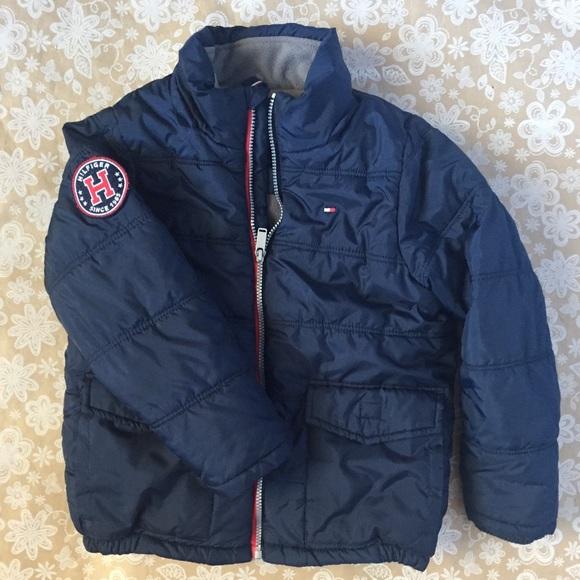 fe1234c3 Tommy Hilfiger Jackets & Coats | Boys Navy Puffer Jacket | Poshmark